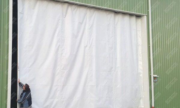 Térelválasztó ponyvák PVC ponyva készítése, javítása